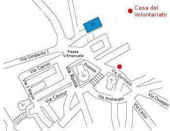 Mappa San Daniele